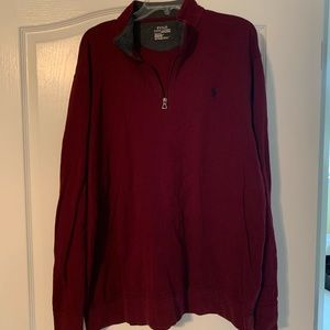 Polo performance pullover
